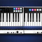 オーディオ・インターフェースとMIDIキーボードコントローラーを一台に!IK Multimedia、「iRig Keys I/O」を発表