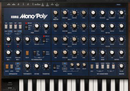 KORG iMono/Poly(iPad)