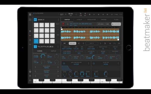 Beatmaker3 quicktips