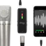 IK Multimedia、iOSデバイスに最適なマイク収録インターフェース「iRig Pre HD」を発表