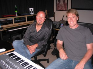 David Helpling & Jon Jenkins in Helpling's SoCal studio for Echoes.