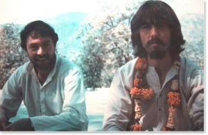 Paul Horn and George Harrison