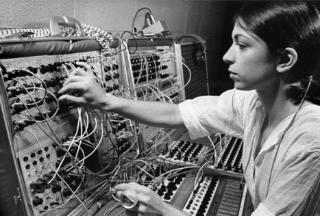 Suzznne Ciani at Buchla in 1970s