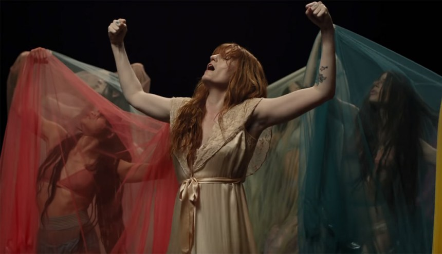 Florence and the Machine from Big God Video