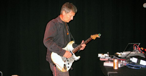 Michael Rother at International House 2010