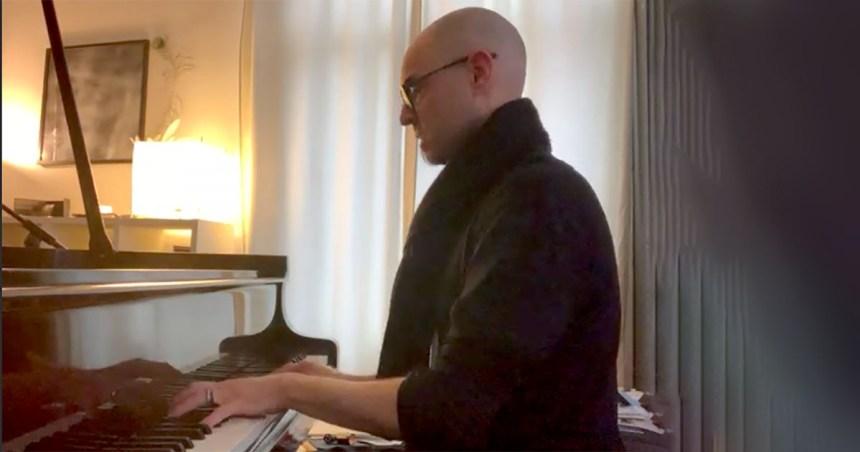 Nik Bartsch at the Piano