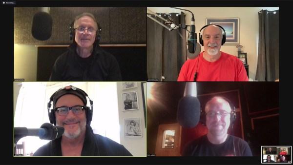 lockwise from top Left: Will Ackerman, John Diliberto, Tom Eaton, Jeff Oster