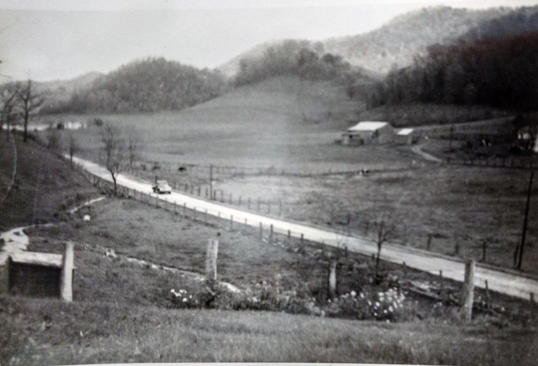 Catawba Creek Rd from Shepherd House