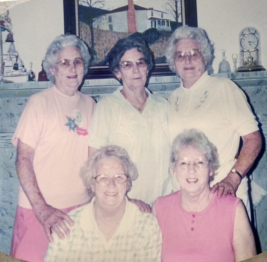 Christine, Betty, Claudine, Rachel, Helen