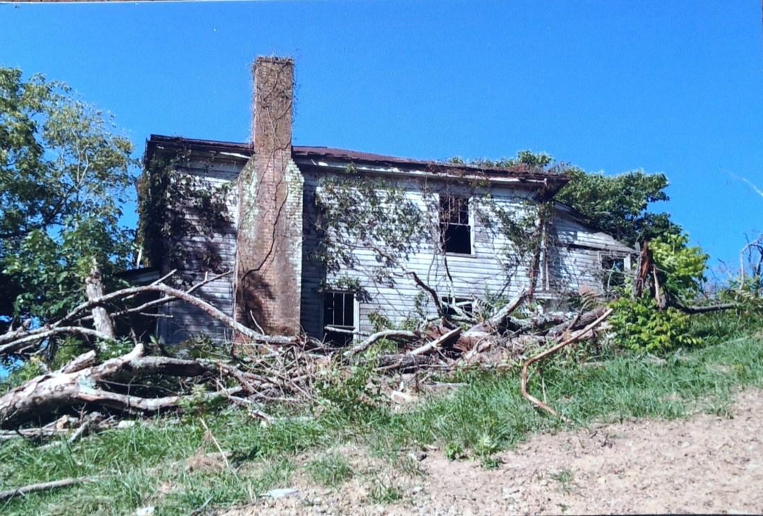 Shepherd house on Andrews Farm