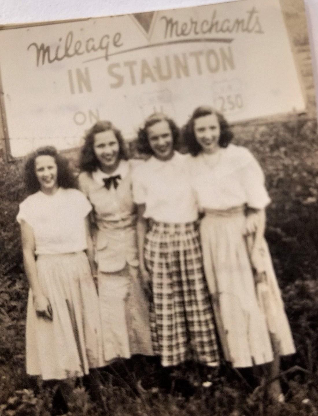 Jo Taylor, Kathlene Taylor, Hilda Taylor, Helen Shepherd