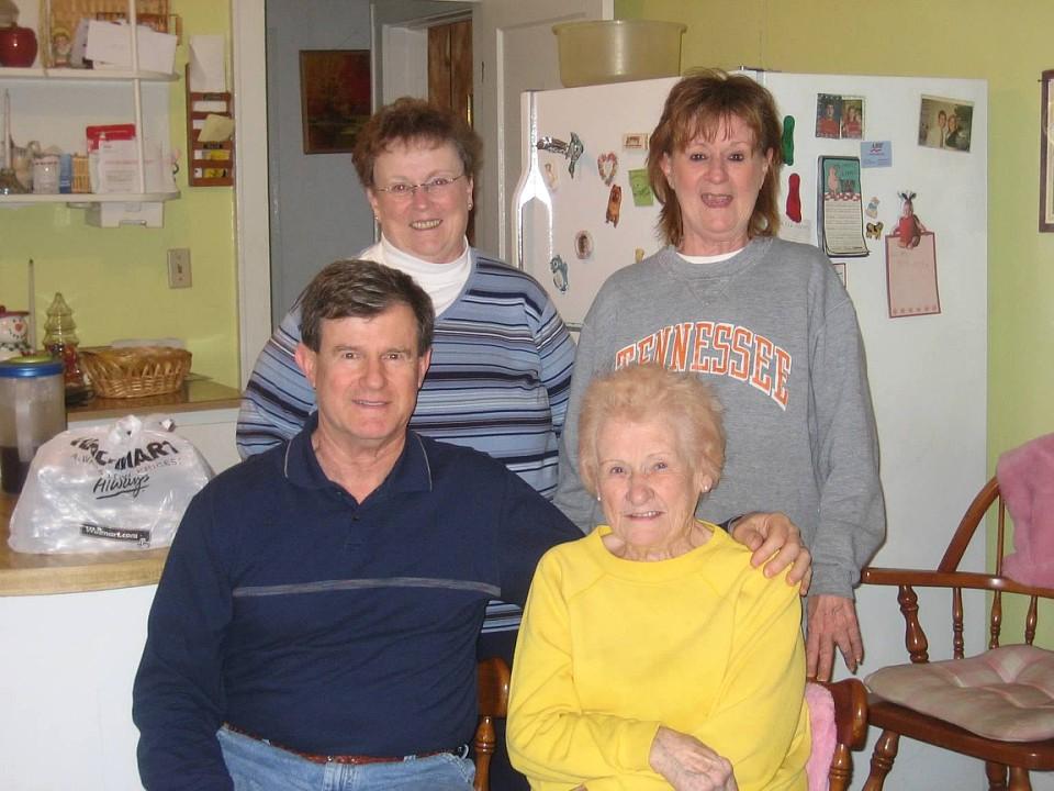 Barbara, Jeanie, Ted, Elizabeth