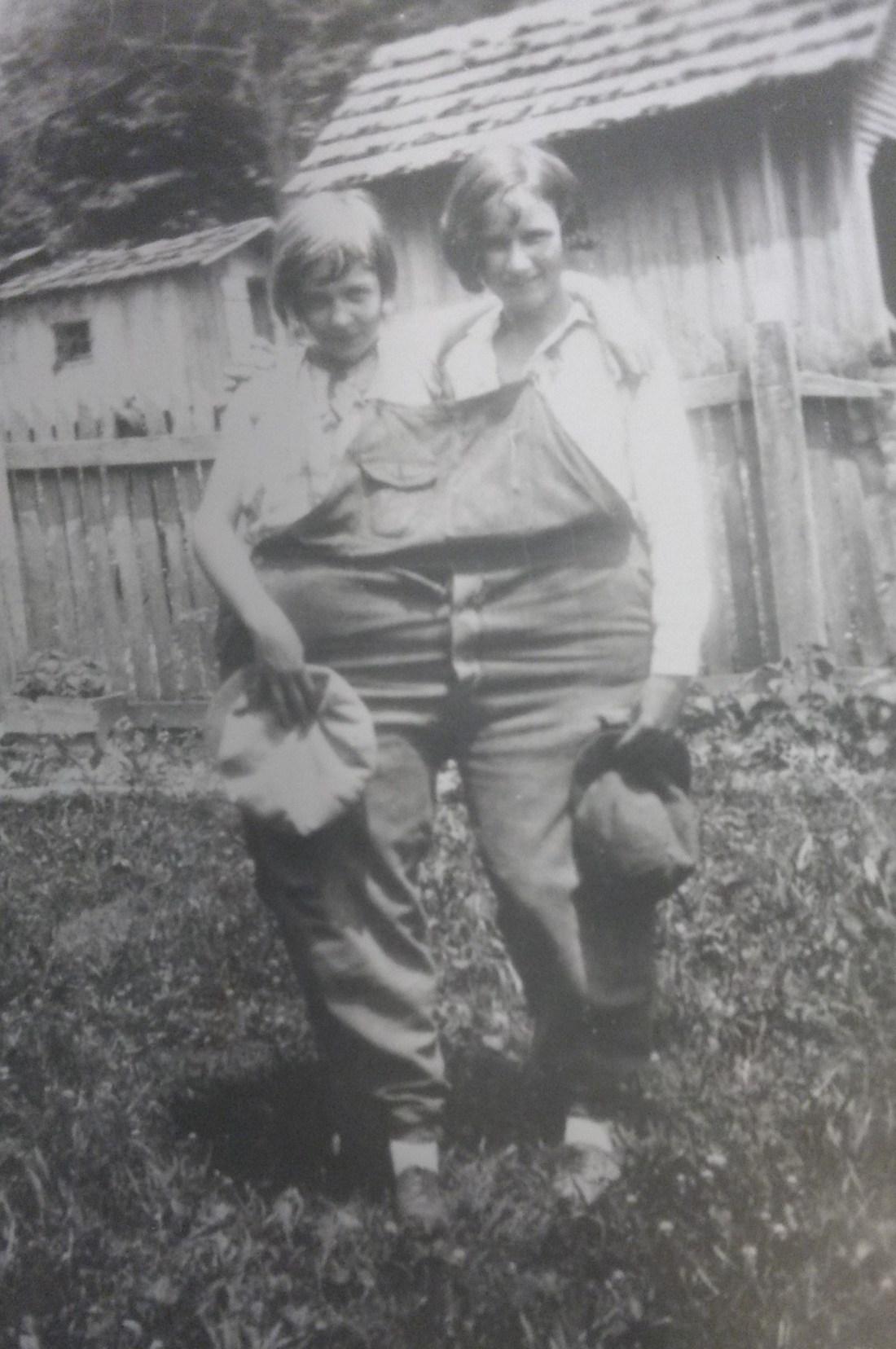 Avis Garman and Elizabeth