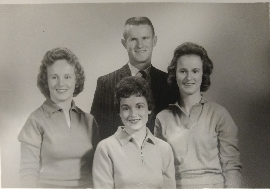 Barbara, Nancy, Jeanie, Ted