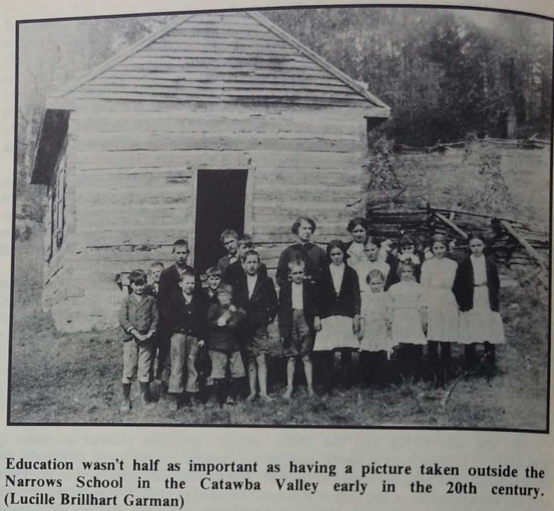 Narrows School 1871-1926