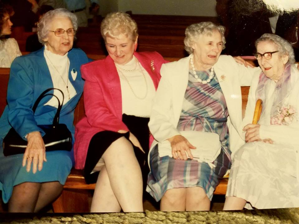 Sisters: Mae, Elizabeth, Granny and Gertrude