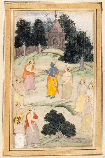 Krishna_Mediating_between_the_Pandavas_and_Kauravas