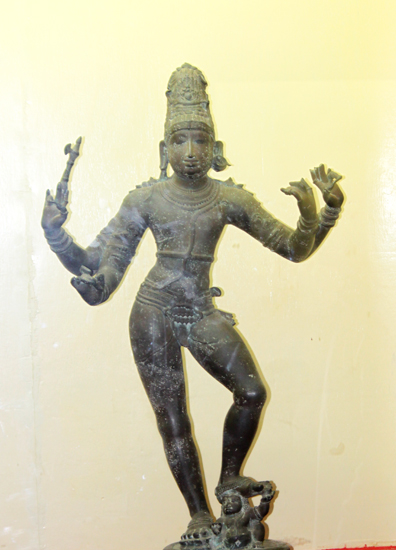 Lord Shiva -- 11th century Chola bronze