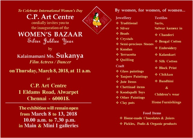 womens craft bazaar-2017