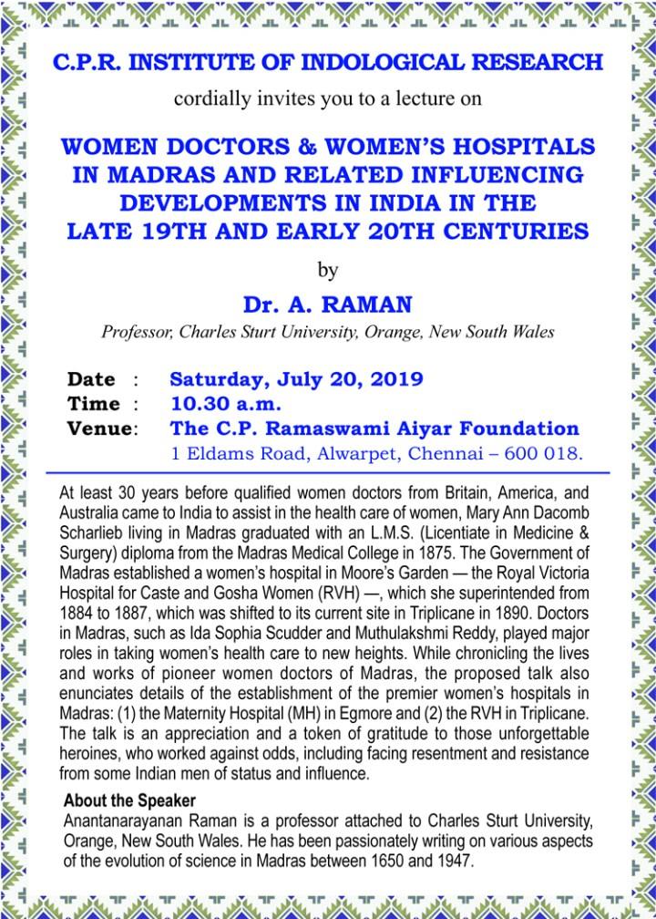 E-invite-lecutre on 20-7-2019