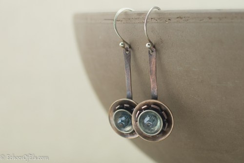 mixed-metal-gear-earrings-blue2