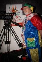 Kameramann Volker Scherzberg bei der Karnevalssitzung 2014