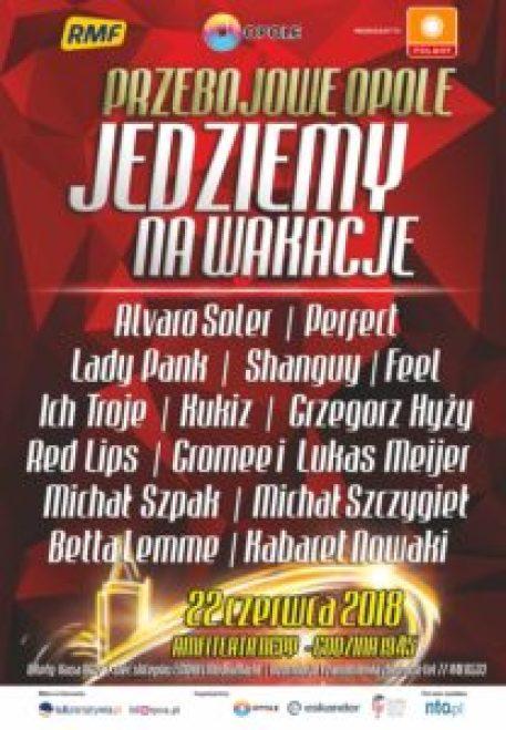Koncert gwiazd i noc kabaretów w opolskim amfiteatrze 5