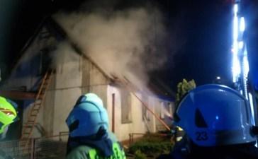Pożar w Czarnowąsach. Jedna osoba nie żyje 3
