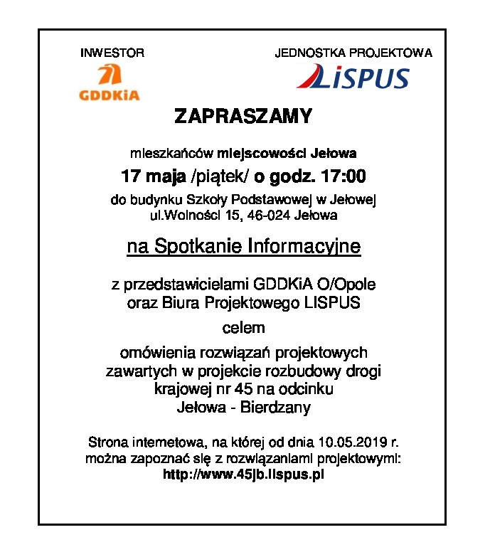 Spotkanie w Jełowej nt. rozbudowy drogi krajowej 11