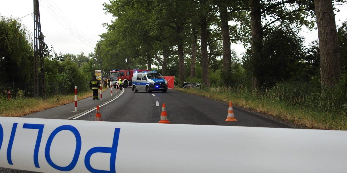 Wypadek na trasie Krzanowice - Czarnowąsy. Jedna osoba nie żyje 1