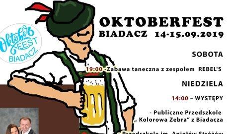 Oktoberfest w Biadaczu już od soboty 1