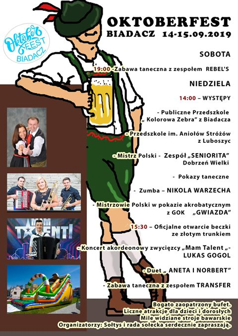 Oktoberfest w Biadaczu już od soboty 5
