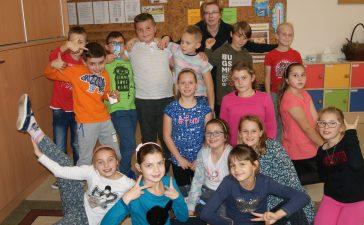 Uczniowie bawili się w dziennikarzy 5