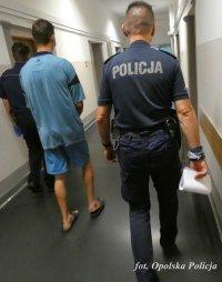 Policjanci zatrzymali 21-latka podejrzanego o podpalenie, grozi mu nawet 10 lat więzienia 5