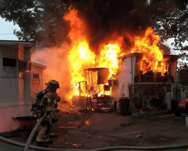 5th Ave Trailer Fire