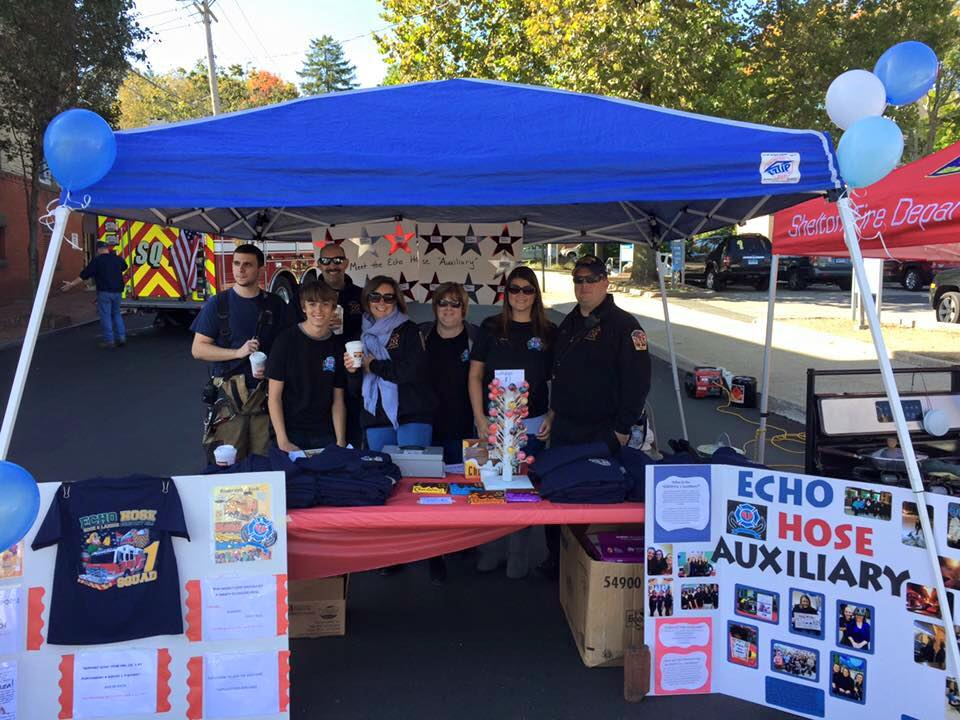 Members of the Auxiliary at Shelton Day