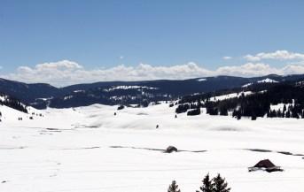 Very snowy Cumbres Pass.