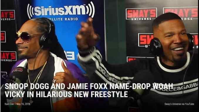 Snoop Dogg and Jamie Foxx Freestyle