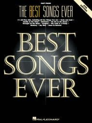 Various - The Best Songs Ever - 6th Edition (Easy Piano)