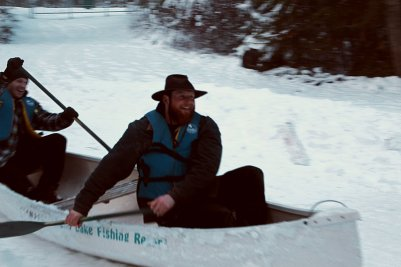 Snow Canoe Adventures
