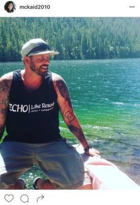 Echo Lake Resort NEW Mens Tank!