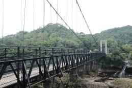 終點前的吊橋—月桃寮溪