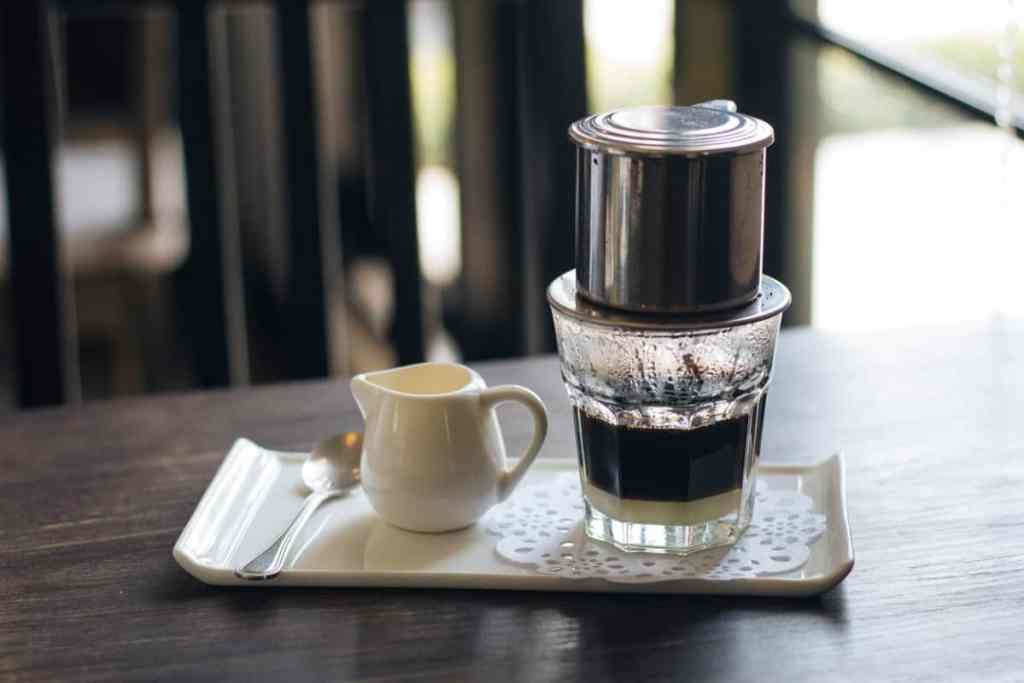 préparer un café vietnamien