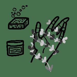 box jardinage bio : produits bios et vegans pour l'entretien des mains vertes | l'échoppe végétale