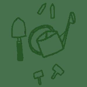 box jardinage bio : accessoires et outils de jardin éco-responsables | l'échoppe végétale