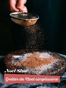 noel et fete de fin d'années écologique avec un gouter de noel, gateau vegan facile et rapide pour toute la famille