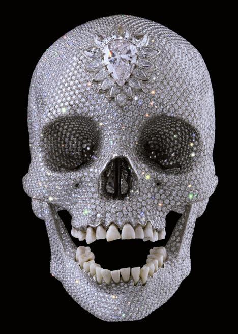 hirst skull Diamonds are forever?