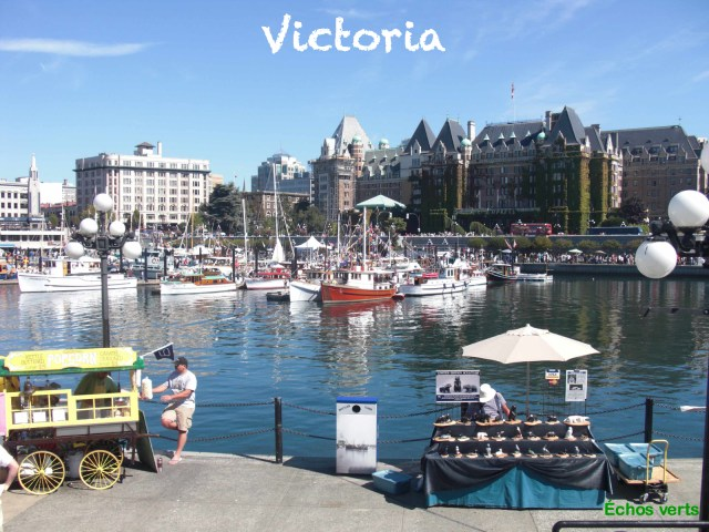 Victoria BC Canada échos verts