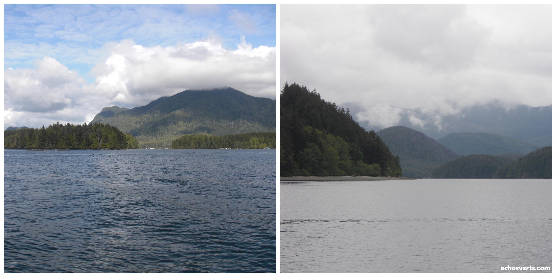 Côtes montagneuses- Ile de Vancouver- copyright- échis verts