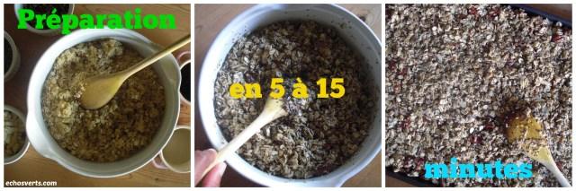 Préparation- granola maison- copyright- échos verts